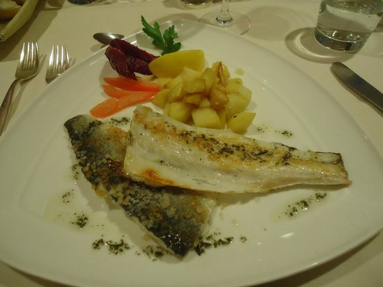 Piccolo Mondo Hotel: poisson (16 euros)