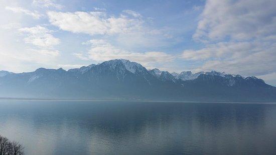 Grand Hotel Suisse Majestic : les alpes