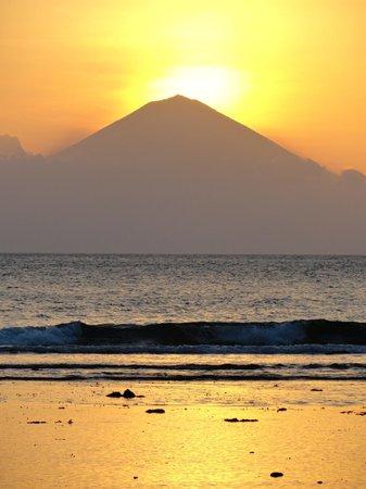 Jeeva Klui Resort: Le coucher de soleil