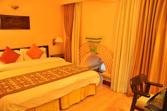 Hotel Shanker: Aparte slaapkamer in de suite