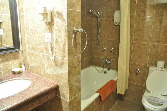 Hotel Shanker: Badkamer in de suite