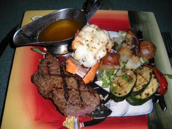 Cordova Bistro: Steak and Lobster