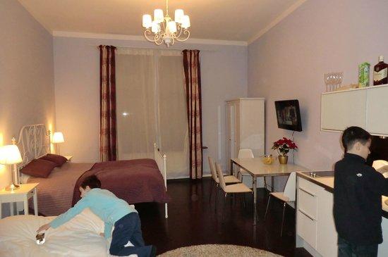 Apartamenty Dluga 27 : большая комната