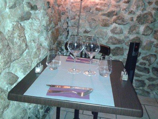 La P'tite Cocotte : Un romantico tavolino d'angolo