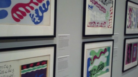 "Indianapolis Museum of Art: The ""Matisse: Life in Color"" exhibition lasts through Jan. 12.  Here are some of his ""Jazz"" prin"