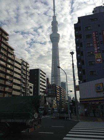 Hotel MyStays Asakusa: near Tokyo tower