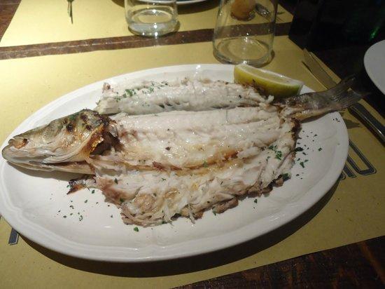 Osteria dell'Orologio: poisson (16 euros)