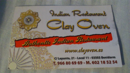 Clay Oven: delicious