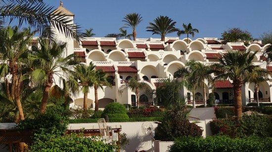 Movenpick Resort Sharm El Sheikh Naama Bay : A partial view of the sprawling complex