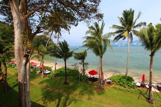 Amari Phuket: View from Deluxe room balcony