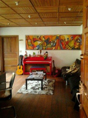 Hostal Refugio del Rio: reception