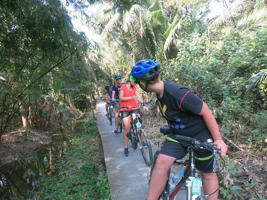 Follow Me Bike Tours: Almost in the jungle