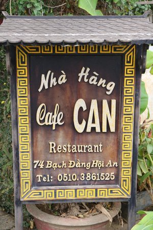Cafe Can: If you see this restaurant, please run far away