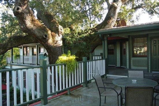 Florida House Inn: Rückseite des Hauses