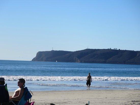 Coronado Municipal Beach : Point Loma