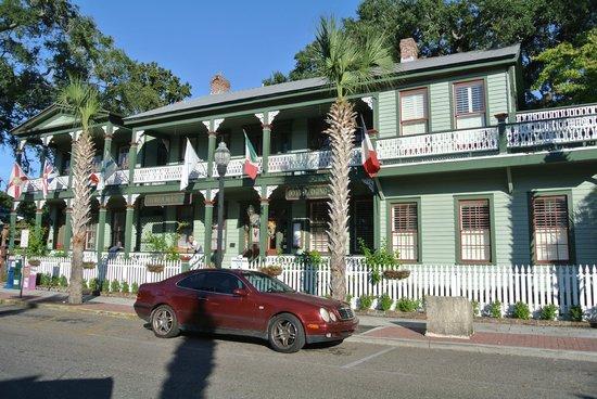 Florida House Inn: Vorderseite des Hauses