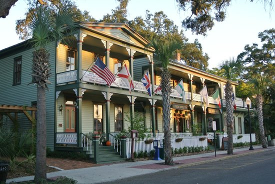 Florida House Inn : Vorderseite des Hauses