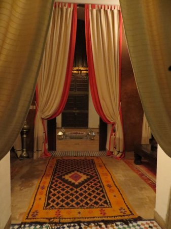 Riad Zolah: Sala comune