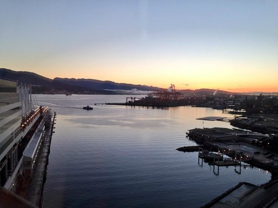 Fairmont Waterfront: View from room