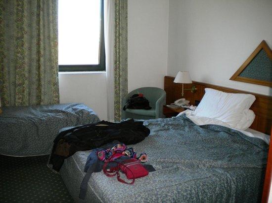 Hotel Castagna Palace: La camera, prima della partenza