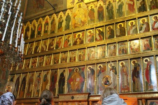 Kazan Cathedral : Interno