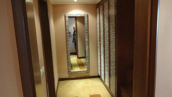 Movenpick Resort Aswan: Closet area to bathroom