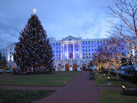 Christmas Decorations at the Greenbrier