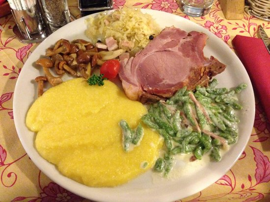 Te Cevena: Piatto completo !! Quantità buona per un pasto soddisfacente.