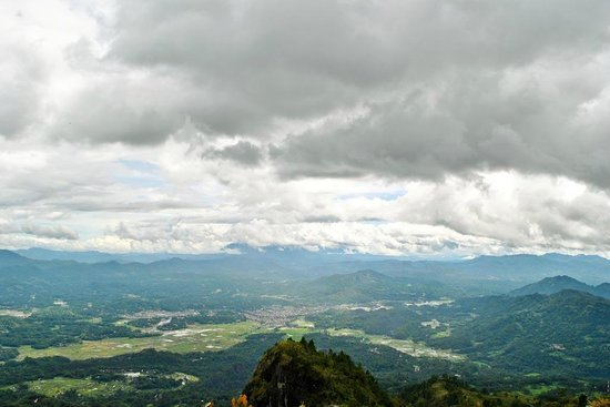 Rantepao, Indonesien: View from Mount Sesean