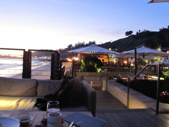 Nobu Malibu: Seating area