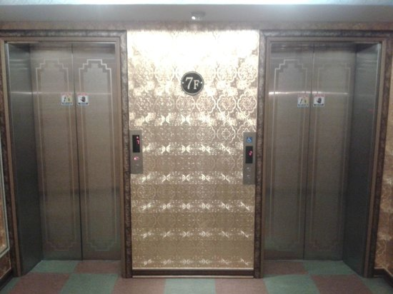 Hotel Amour & Symphony: Two elevators