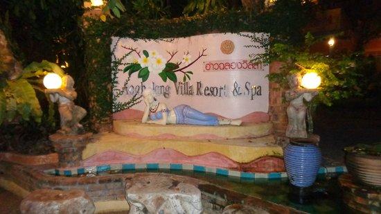 Ao Chalong Villa & Spa: entrée de l'hôtel