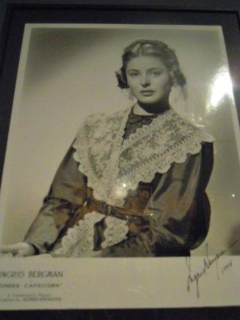 Film Museum (Museu del Cinema) : foto autografata Diva cinema