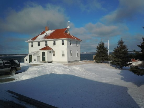 West Quoddy Head Station: Main Building at West Quoddy Station