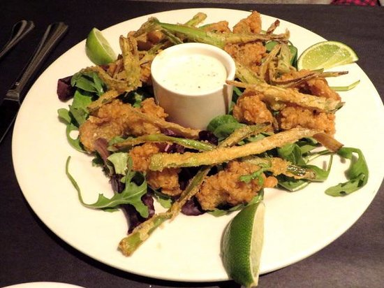 O'Leary's Seafood Restaurant : Crispy oysters - appetizer