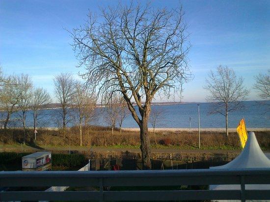 Hotel Seegarten: Blick vom Balkon unseres Zimmers
