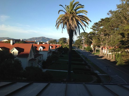 Inn at the Presidio: Morning view from our sitting room window