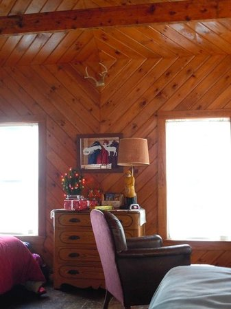 West Quoddy Head Station: Living room area of greatroom