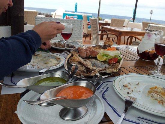 Restaurante El Caleton : Pescado del Dias