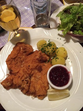 Gasthaus Zwettlers: Schnitzel