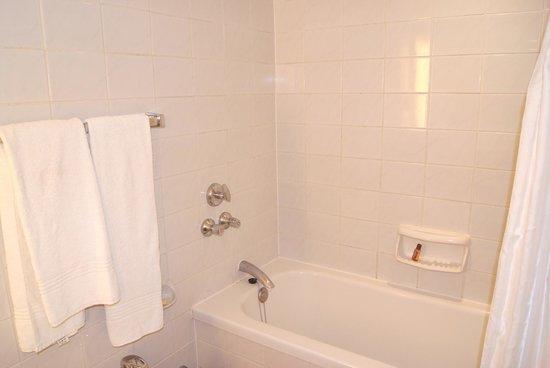 Sheraton Brussels Hotel: 27 Dicembre 2013 - 3 Gennaio 2014 - La doccia schizza acqua sul pavimento