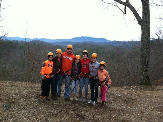 Wears Valley Zipline Adventures: The Family