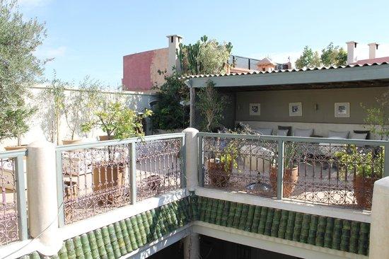 Riad O: Terrasse