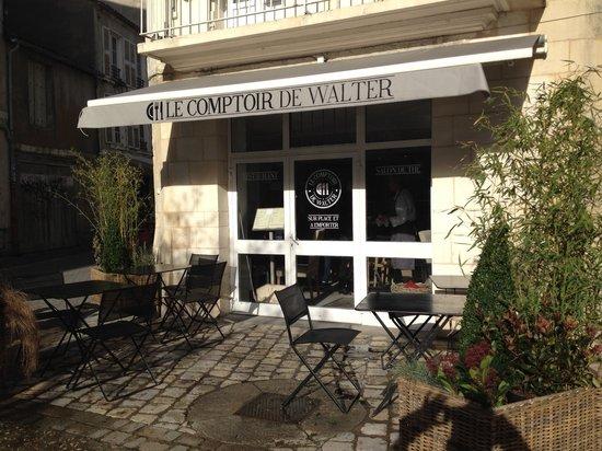 Le Comptoir de Walter : Notre Facade au 45 rue Saint Nicolas