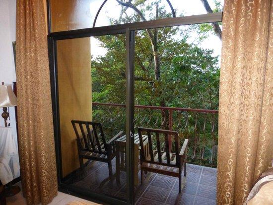Hotel San Bada: Rear balcony, 3rd floor