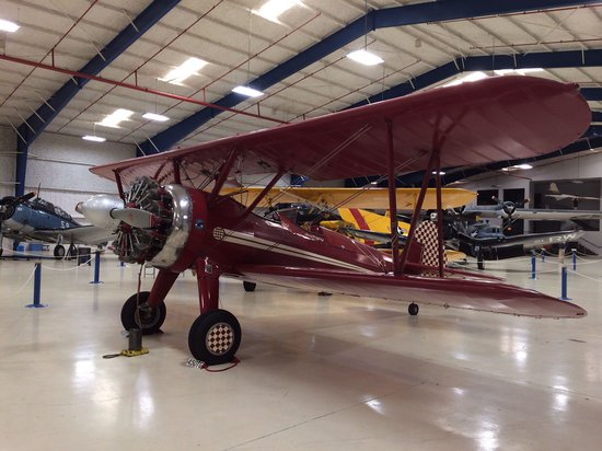 Lone Star Flight Museum: Stearman that was in the movie Secondhand Lions