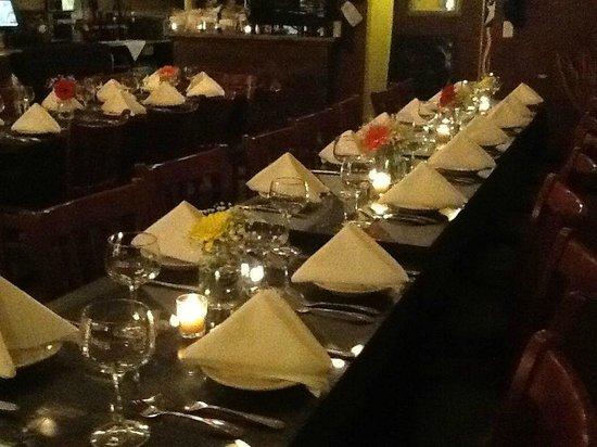 Yvonne's Cafe : Rehersal Dinner 1.3.14