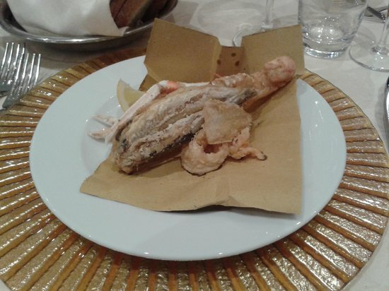 BEST WESTERN David Palace Hotel: Fritto