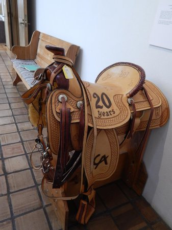The Museum of Western Art: Saddle