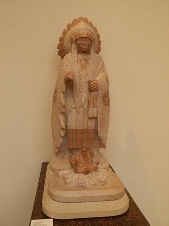 The Museum of Western Art: Alabaster Indian